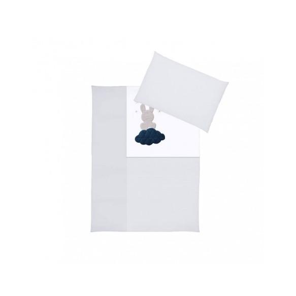Pościel 3-el haftowana Albero Mio by Klupś - Chmurka H243