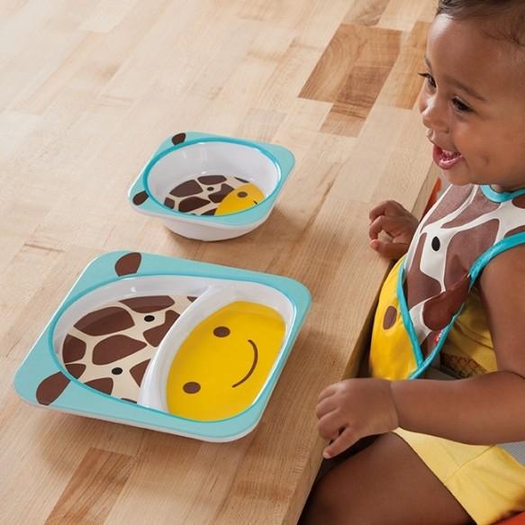 SKIP HOP Miska dla dziecka Zoo Żyrafa