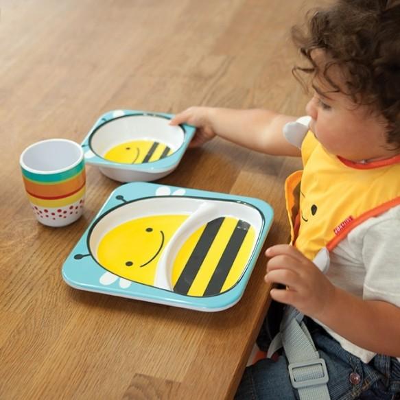 SKIP HOP Miska dla dziecka Zoo Pszczoła