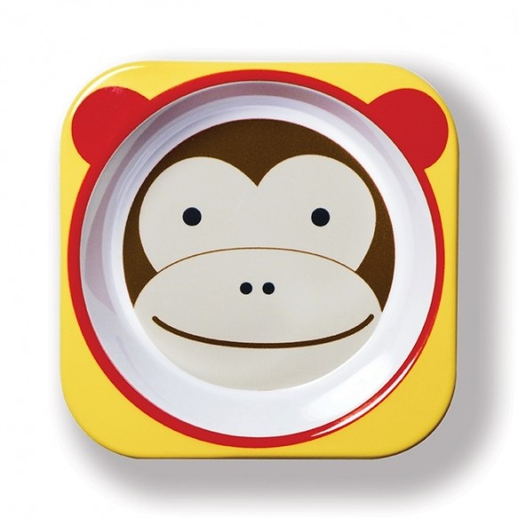 SKIP HOP Miska dla dziecka Zoo Małpa