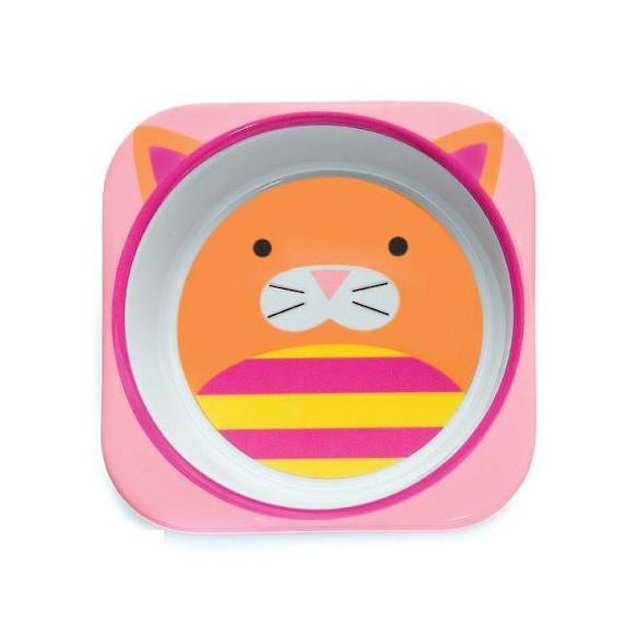 SKIP HOP Miska dla dziecka Zoo Kot