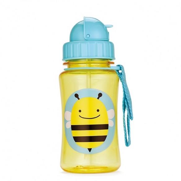 SKIP HOP Bidon ze słomką dla dzieci Zoo Pszczoła