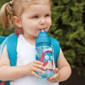 SKIP HOP Bidon ze słomką dla dzieci Zoo Sowa