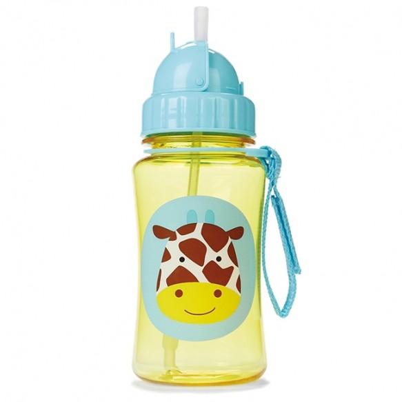 SKIP HOP Bidon ze słomką dla dzieci Zoo Żyrafa