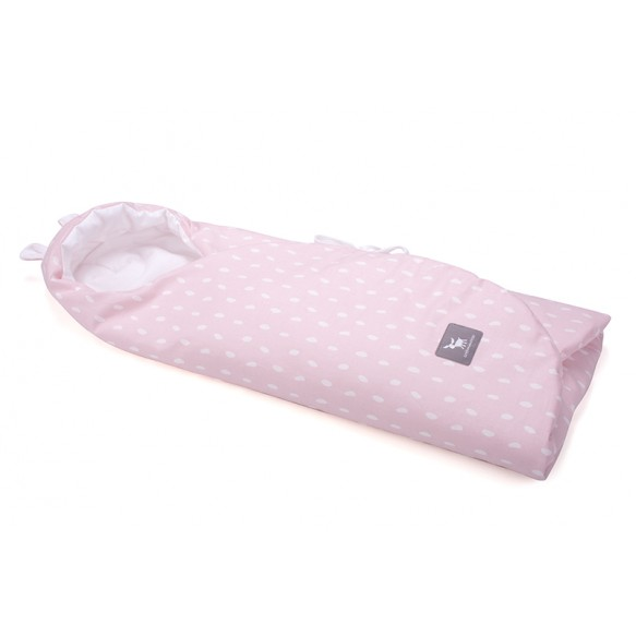 cottonmoose Otulaczek Rain pink cotton