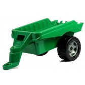 Traktor LENA z Przyczepą Zielony 90CM DO 100KG