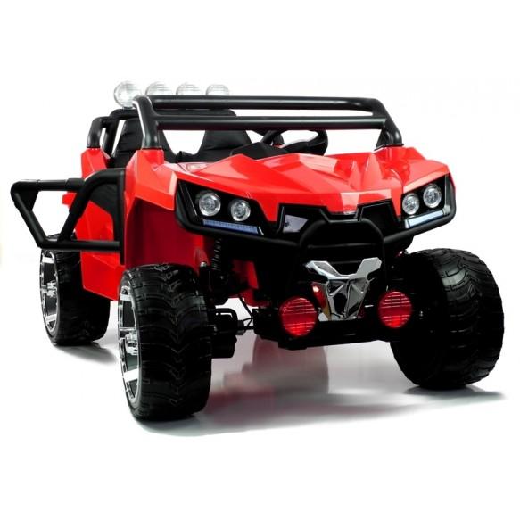 Auto na akumulator KL2988 czerwone