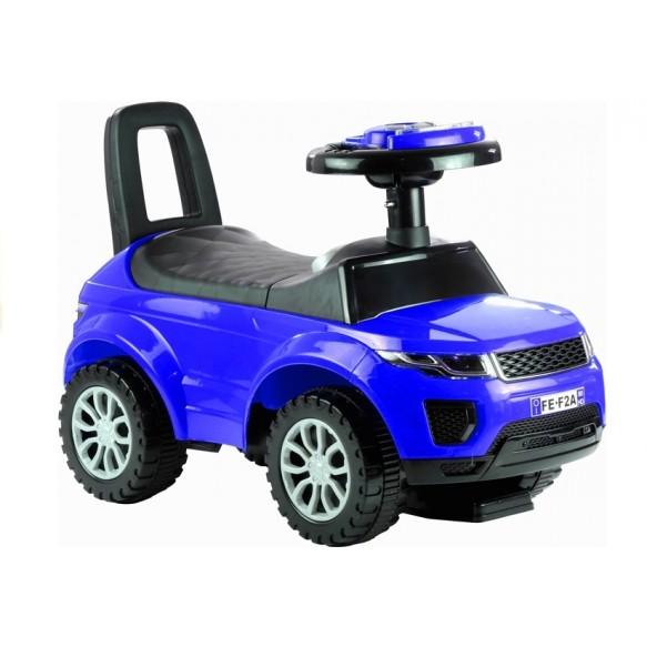 Jeździk dla Malucha 613W Dźwięk + Światła Niebieski
