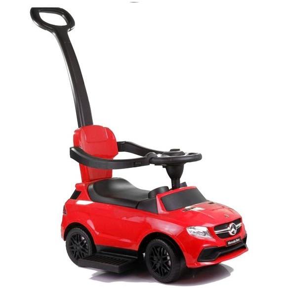 Jeździk Mercedes z Pchaczem 3288 Czerwony