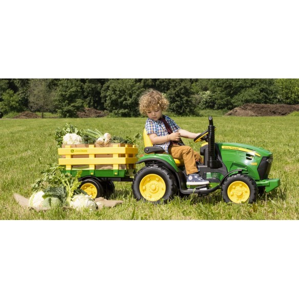 PEG PEREGO JOHN DEERE GROUND FORCE 12V