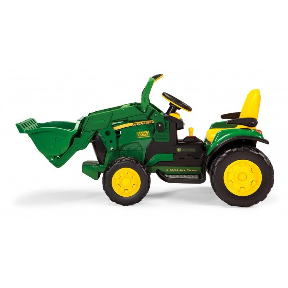 PEG PEREGO JOHN DEERE GROUND LOADER koparka na akumulator 12V