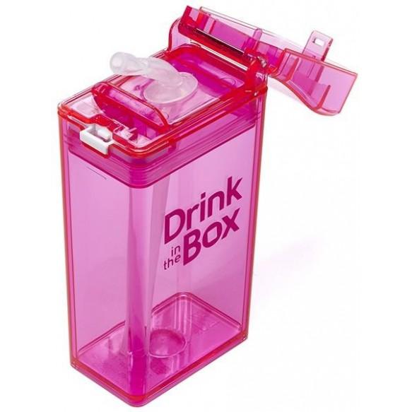 DRINK IN THE BOX Bidon ze słomką  240ml