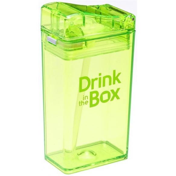 DRINK IN THE BOX Bidon ze słomką  240ml