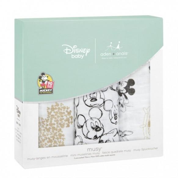 aden+anais Pieluszka muślinowa musy Disney Mickey's 90th 3szt