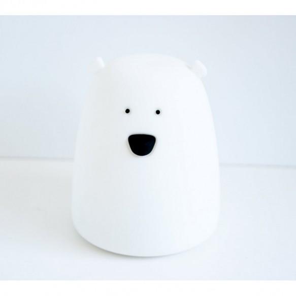 Rabbit&Friends - Lampka miś mały - biały