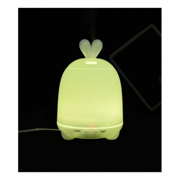 Dyfuzor, lampka-królik zieony