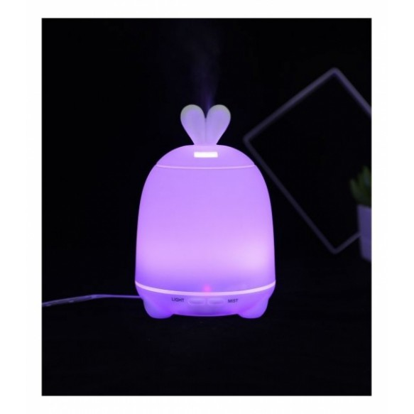 Rabbit&Friends -  Dyfuzor, lampka królik różowy