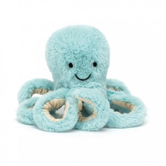 Jellycat,  Ośmiornica Niebieska 14cm