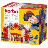KORBO Klocki Car service, 119 elementów