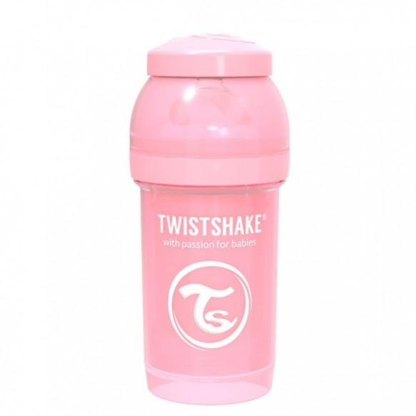 Twistshake Butelka antykolkowa 180 ml, biała