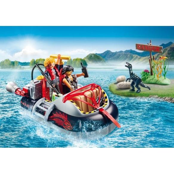 Playmobil 9435 Poduszkowiec z silnikiem podwodnym