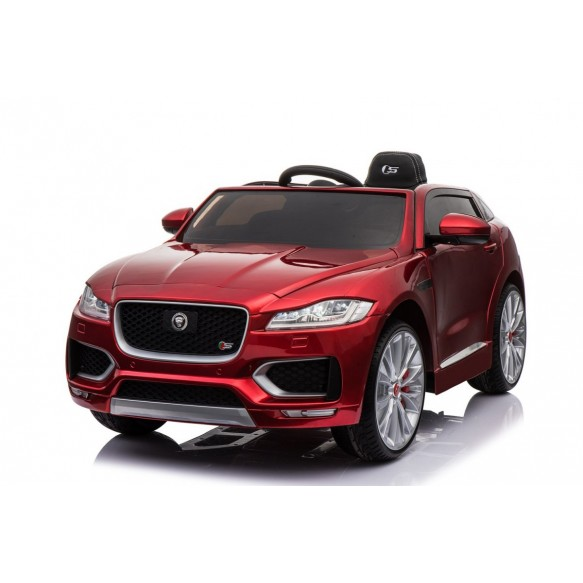 Pojazd na akumulator Jaguar F-Pace czerwony