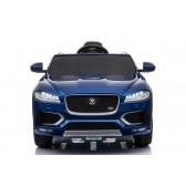 Pojazd na akumulator Jaguar F-Pace niebieski lakier