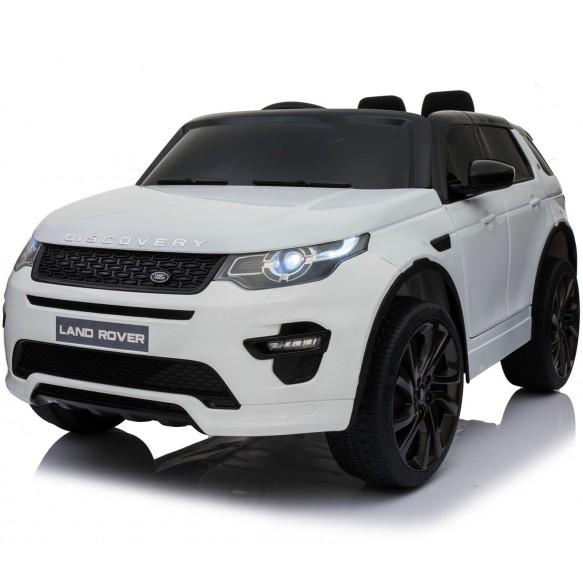 Pojazd na akumulator  Land Rover Discovery biały