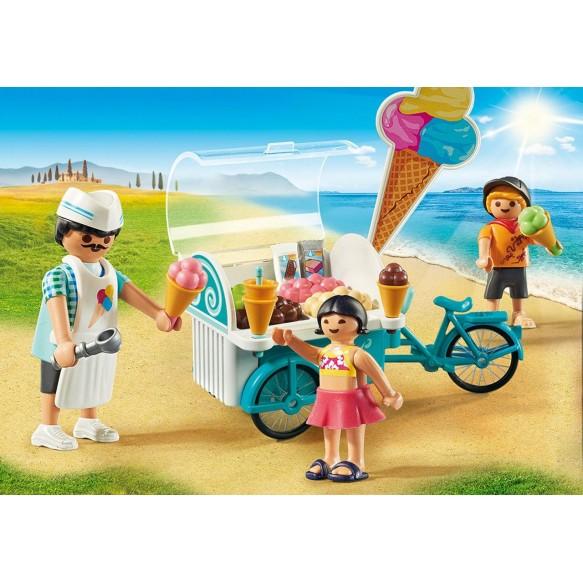 Playmobil 9426 Rower z wózkiem z lodami