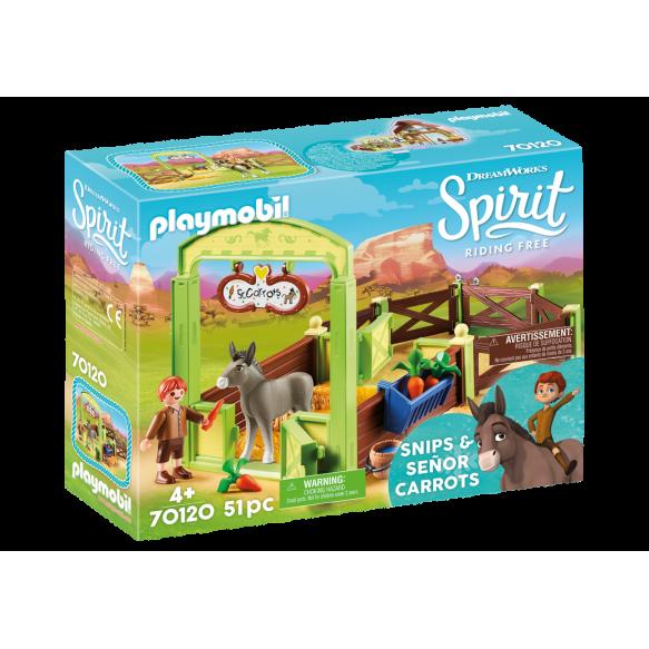 "Playmobil 70120 Boks stajenny ""Snips i Pan Marchewa"""