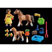 Playmobil 70122 Pru z koniem i źrebakiem