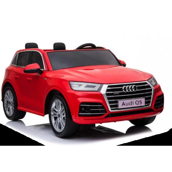 Pojazd na Akumulator Nowe Audi Q5 2-osobowe czerwone