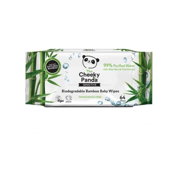 cheeky panda Nawilżane chusteczki bambusowe dla dzieci