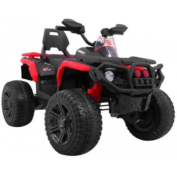 Pojazd Quad na akumulator Maverick 4x4 czerwony