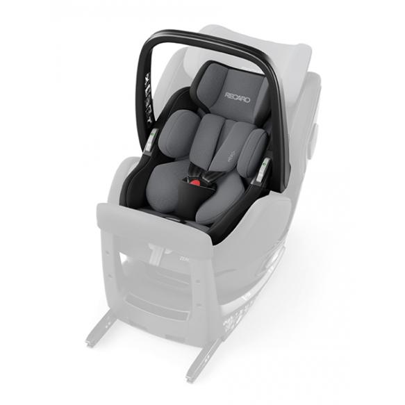 Recaro Zero.1 Elite I-size Aluminium Grey
