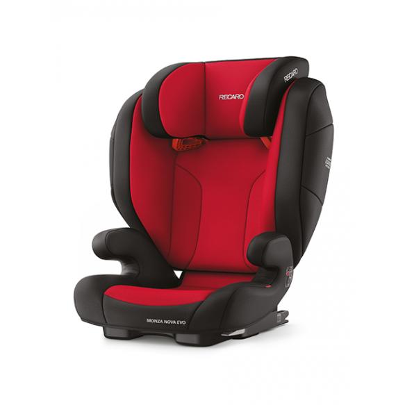 Recaro Monza Nova Evo Seatfix Racing Red