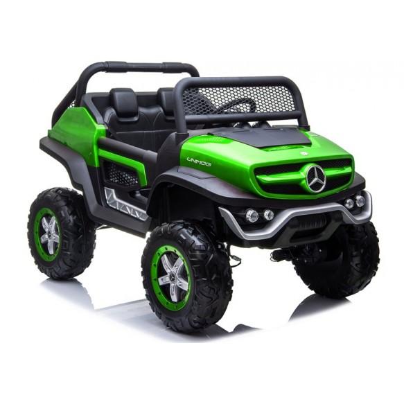 Auto na Akumulator Mercedes Unimog 4x4 Zielony