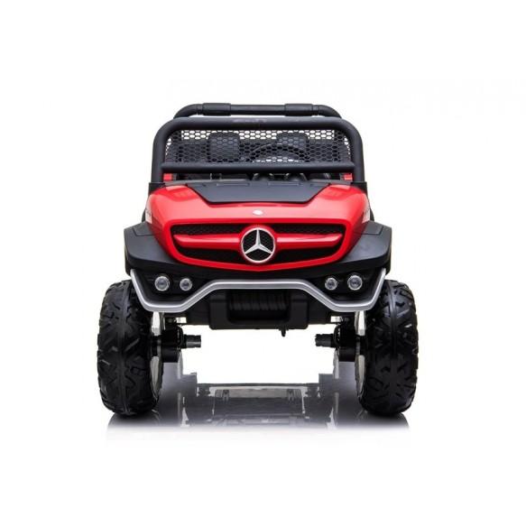 Auto na Akumulator Mercedes Unimog 4x4 czerwony