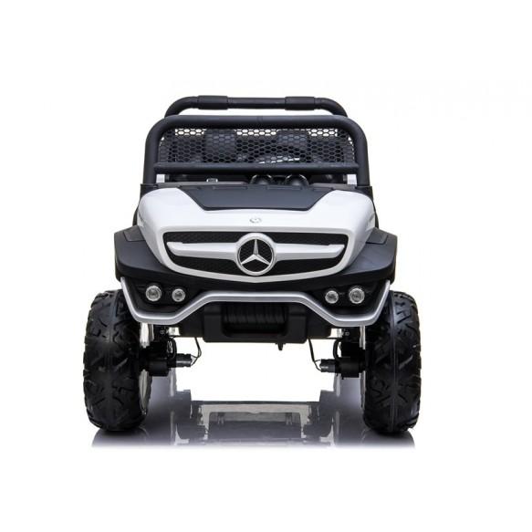Auto na Akumulator Mercedes Unimog 4x4 biały