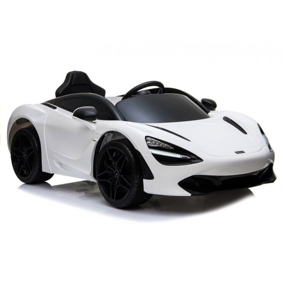Auto na Akumulator Mc Laren 720S białe