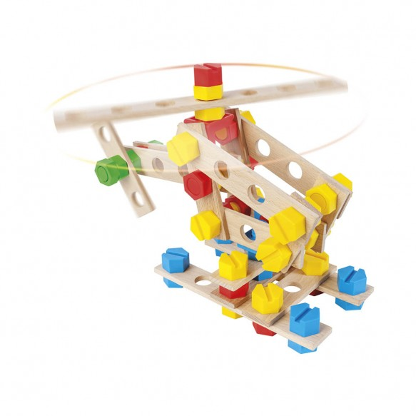 Mały Konstruktor Junior – Helikopter