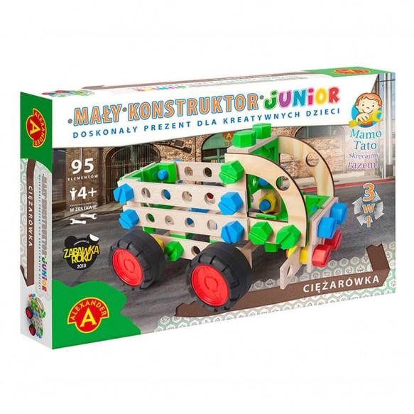 Akexander Mały Konstruktor Junior 3 w 1 Ciężarówka