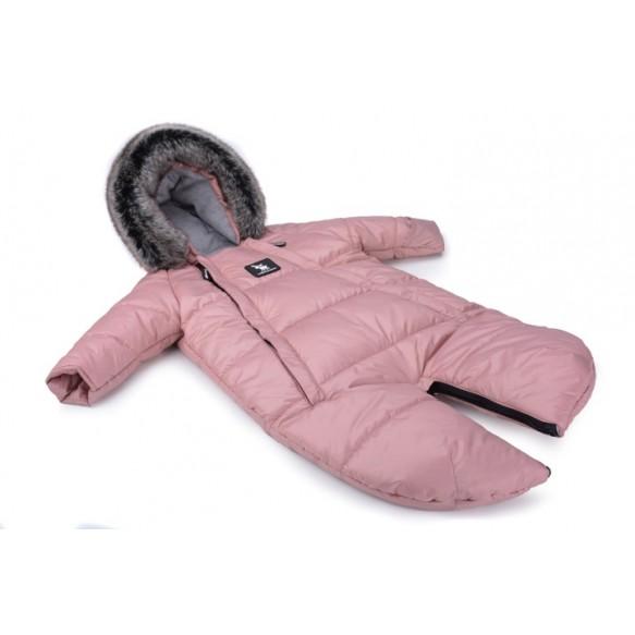 cottonmoose Kombinezony Moose 2w1 dla dzieci 0-6 miesięcy różowy